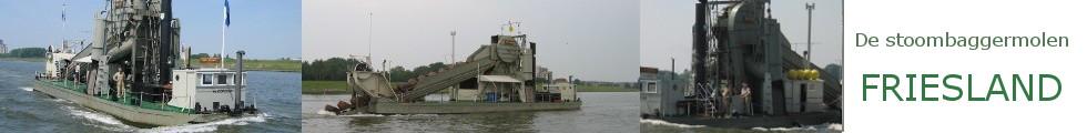 De Stoombaggermolen Friesland